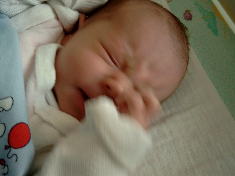 sieben wochen baby